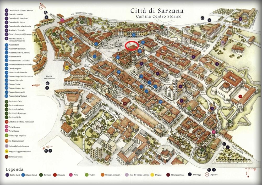 cartina sarzana